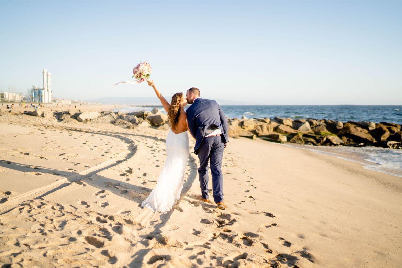 el segundo wedding state beach wedding