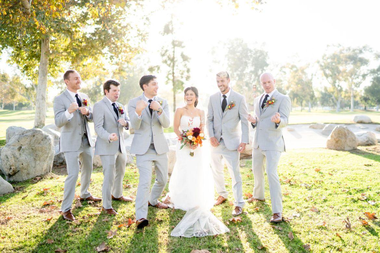 brea wedding photographer mile square park