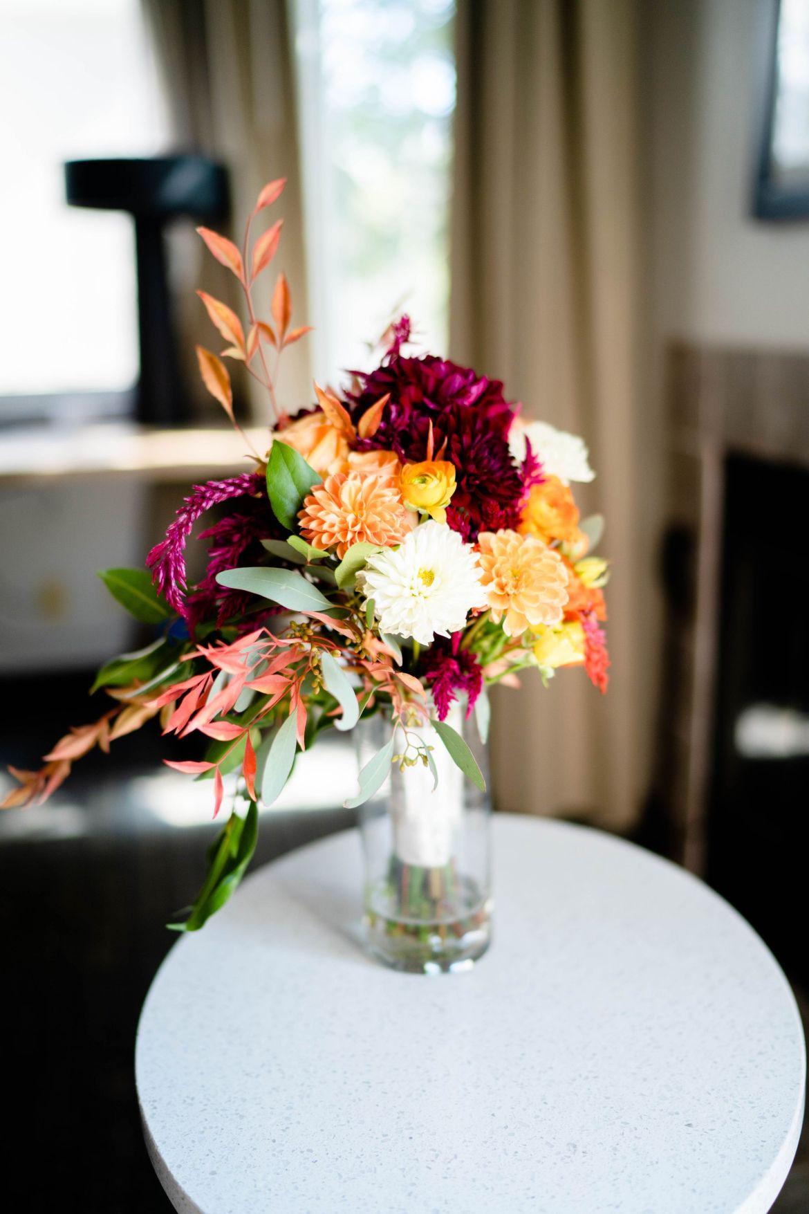 flower bouquet wedding bridal orange county