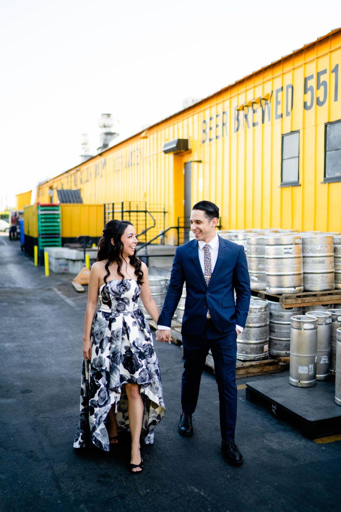 golden road brewery wedding