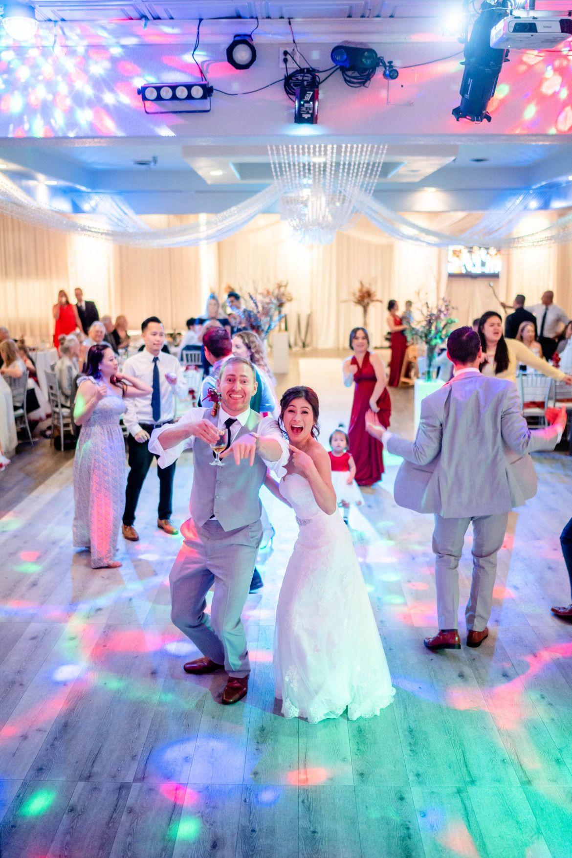 laser light wedding