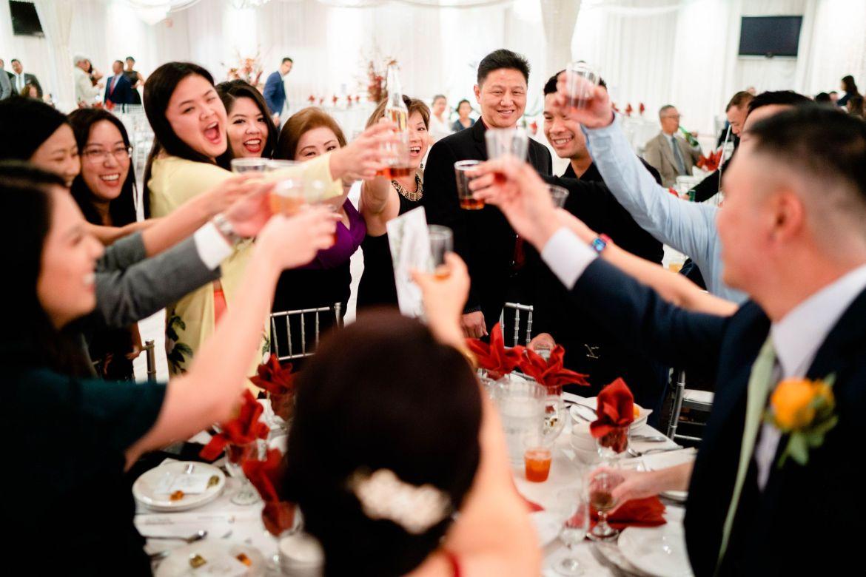 wedding reception fun orange county