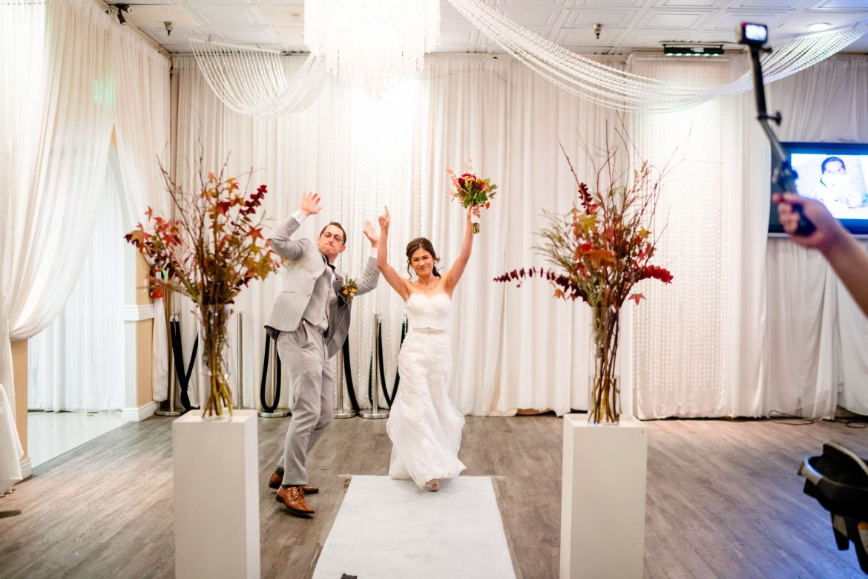 wedding reception paracel restaurant