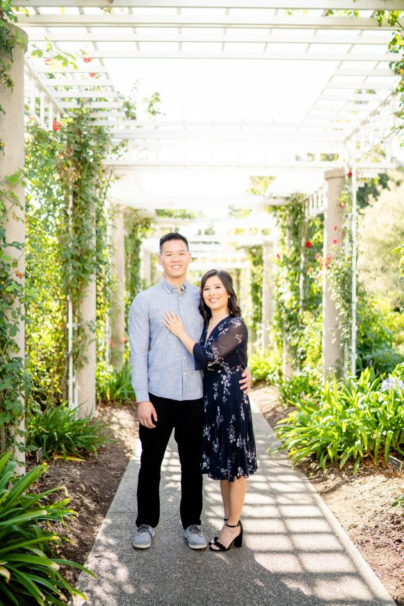 huntington library garden wedding