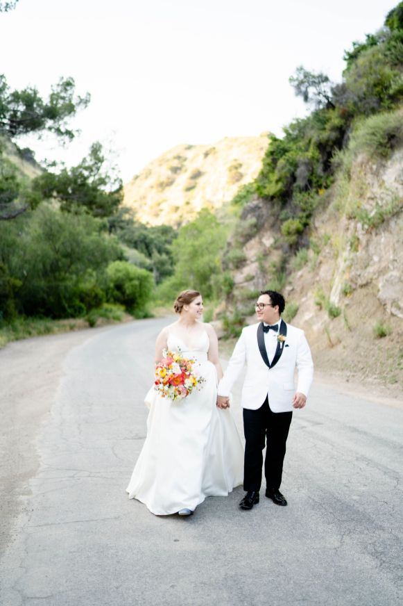 san dimas backyard wedding photo