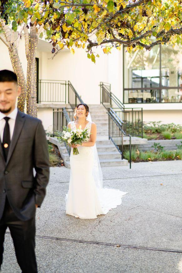 Irvine Wedding First Look