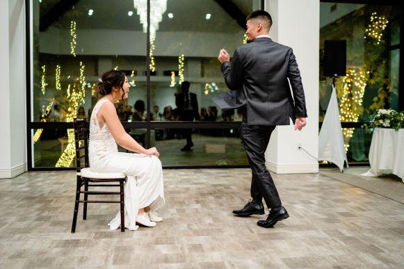 garter wedding tradition
