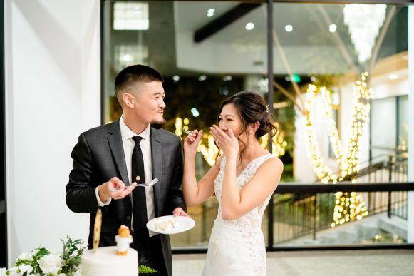 simple wedding cake irvine