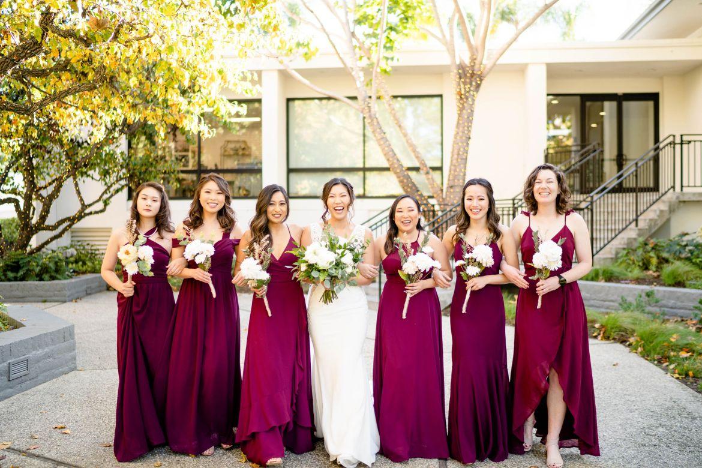 university club wedding photo