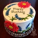 Bluebonnet cake