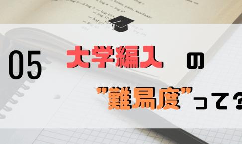 """「""""大学編入""""の難易度」アイキャッチ画像"""