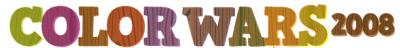 カラーウォーズ2008ロゴ