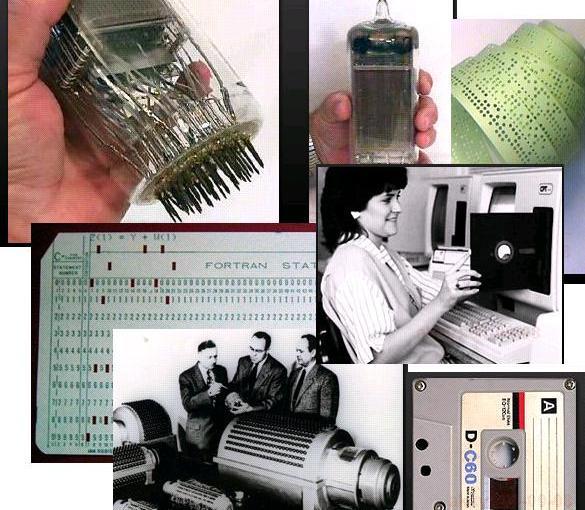 コンピュータ記憶装置の歴史
