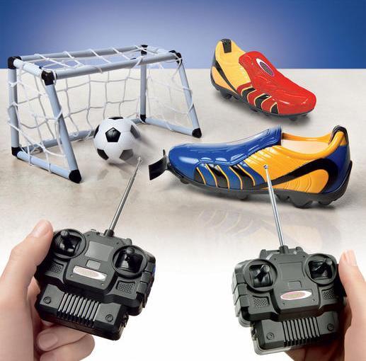 ラジコンサッカー靴
