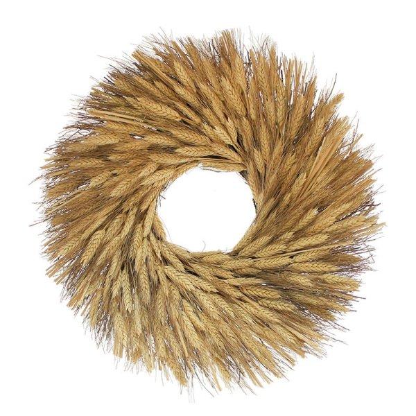 Black Beard Wheat Wreath