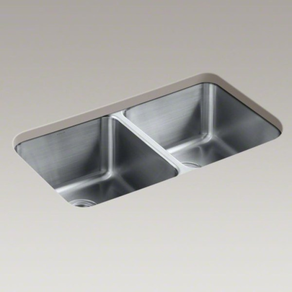 Kohler sink K-3171-HCF-NA installed