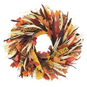 Pilgrim Harvest Natural Elements Wreath
