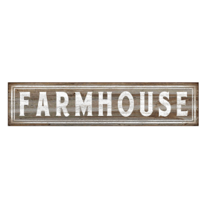Farmhouse kitchen decor Barnyard Farmhouse Vintage Tin Bar Sign