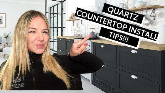 Quartz Countertop Install Tips