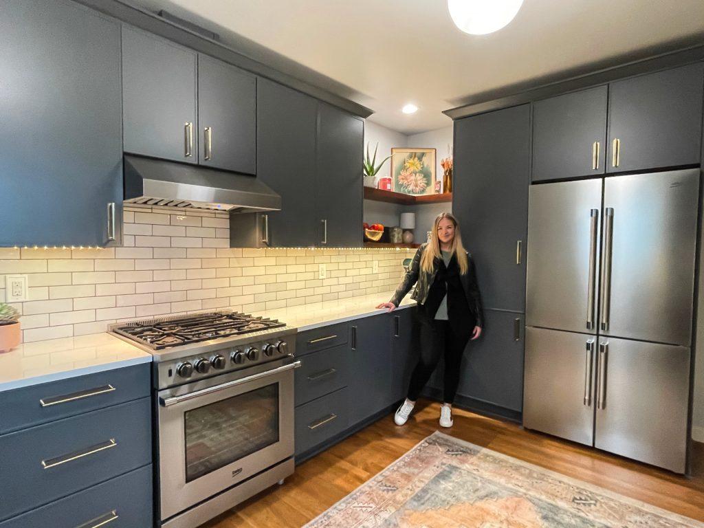 Edit20 scaled - Modern BOHO Kitchen Makeover Tacoma    Coggins Residence