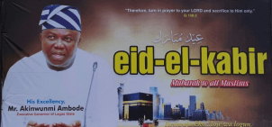 Image result for Eid-el-Kabir : Governor Ambode celebrates with Muslims in Ibeju-Lekki