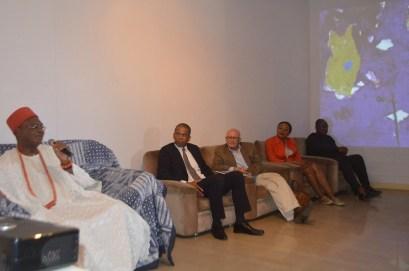 Special Guest L-R: HRM Achebe, Chief E. Dafinone, Jess Castellote, Ms Julianna Edewor & Dr K. FIlani