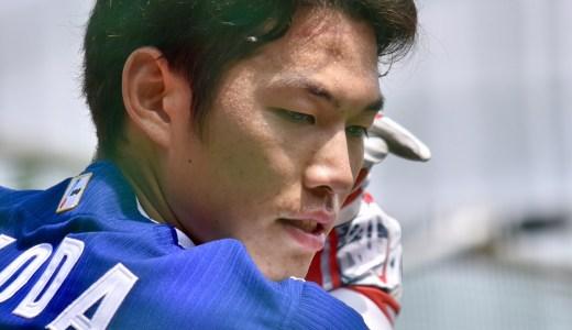 京田陽太選手は、カープ安部選手にソックリ(2018年3月30日カープ6-3ドラゴンズ@ズムスタ)