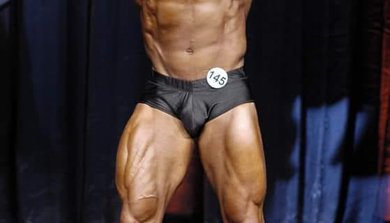 Black posting Pouch Front Posing Trunks Fabrics Physique Competition Shorts