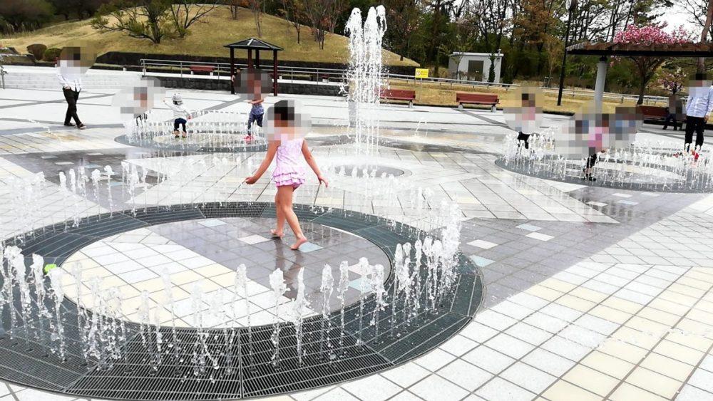 小泉潟公園 噴水