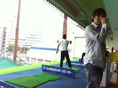 ゴルフ練習2回目、からのランの館