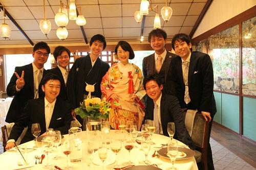 真能さん結婚式