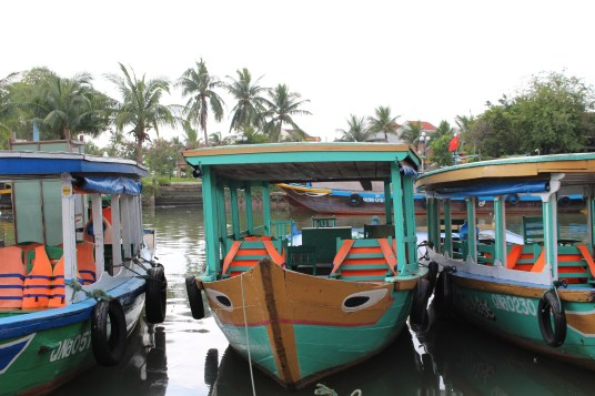 The boats in Hoi A