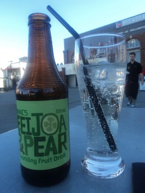 Mmm.... Fejoa and Pear Cider