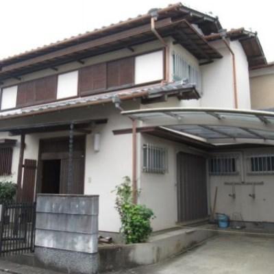 【売買】320万円 三重県伊賀市三田 のどかな住宅地のカーポート付きコンパクト2階建