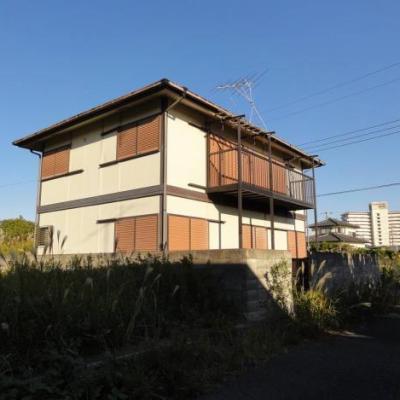 【売買】450万円 千葉県長生郡白子町古所 海まで歩いて行ける 庭付き軽量鉄骨2階建