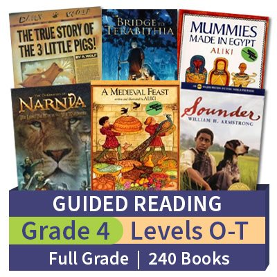 Guided Reading Collection Grade 4 Full Grade 240 Books
