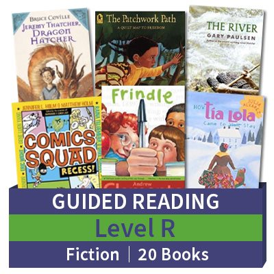 Guided Reading Collection Level R Fiction 20 Books