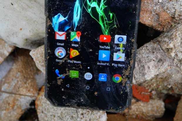 0 Анонс Archos Saphir 50X – защищенный смартфон способный работать в любых условиях
