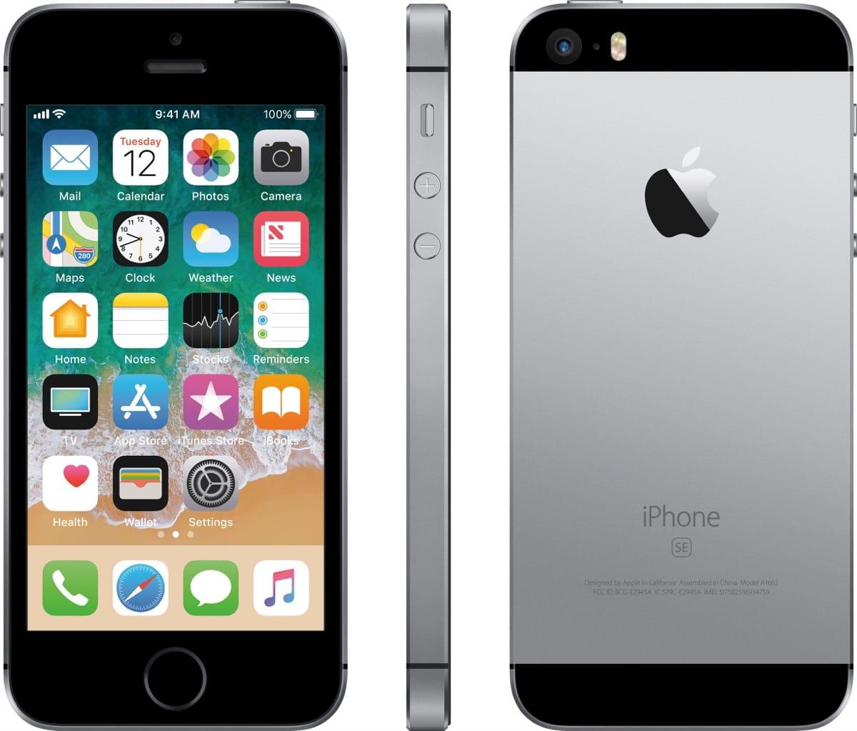39f988f39b7 Además, el paquete incluye accesorios completamente nuevos, y el iPhone SE  difiere en el estado