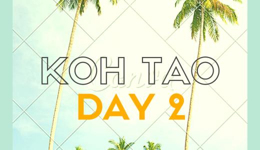 タオ島ダイビングの旅 Day2