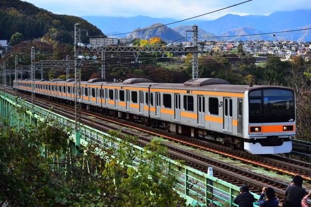 中央線209系、営業運転で初の青梅線入線&中央特快充当!