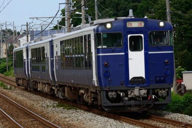 JR東日本 春の臨時列車 上越編