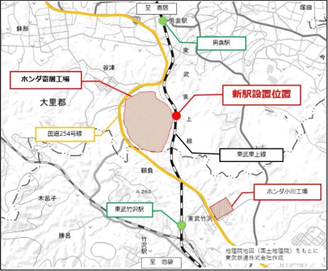 新駅 設置位置
