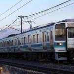 中央本線211系で方向幕盗難発生!