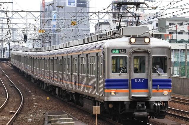 南海電鉄6000系ついに置き換え、地方鉄道へ譲渡の可能性も?