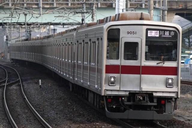 9050系9152Fが東武本線で試運転実施