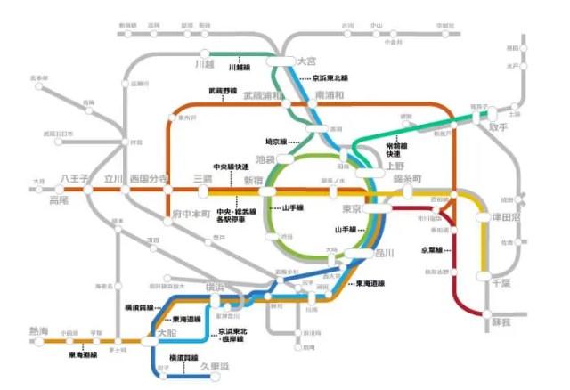 JR東日本 路線図