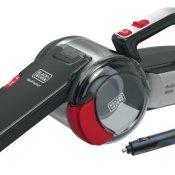 Black + Decker PV1200AV Auto-Sauger Dustbuster Pivot (inkl. Bürstenaufsatz, extra langer Fugendüse, flexiblem Saugschlauch, Aufbewahrungsnetz) - 1