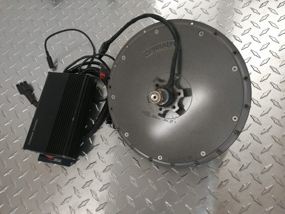 Käytetty Crystalyte HT-2425 etunapamoottori