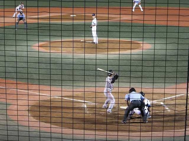 横須賀スタジアムで投げる横浜DeNAベイスターズ菊地投手